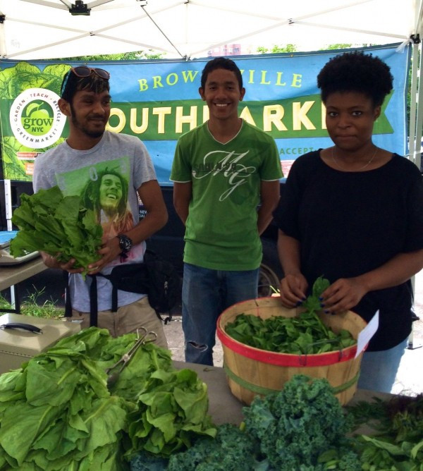 GrowNYC Youth Market in Long Island City