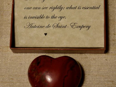 Happy Valentine's Day with a Warm Heart of Stone
