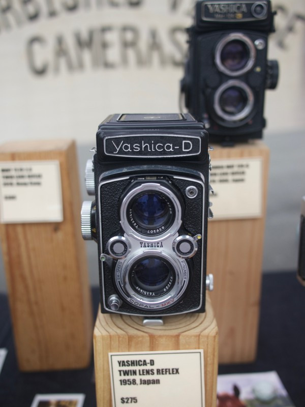 Yashika Twin Lens Reflex from Brooklyn Film Camera
