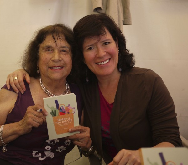 Mom at my Book Signing for Markets of New York City