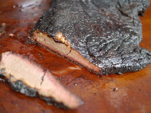 Butcher Bar's melt in your mouth Brisket at LIC Flea