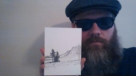 Byron Hargett and his Diffee Doodel (via Facebook)