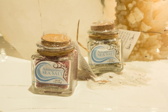 Amagansett Sea Salt is hand made from buckets of water straight out of the Atlantic