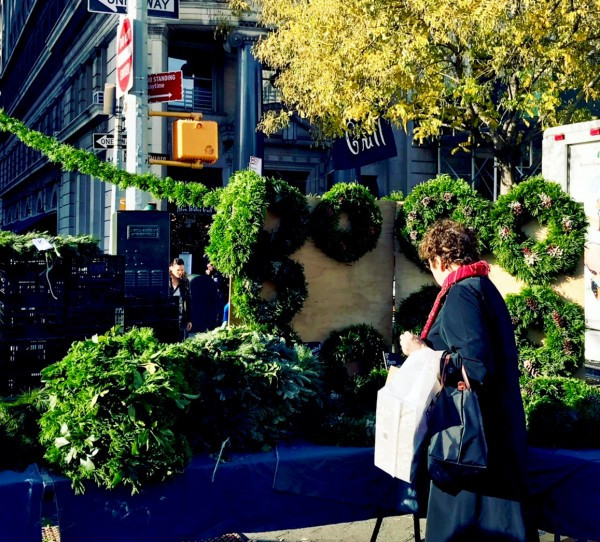 Mountain Sweet Berry Farm brings holiday greenery to Union Square