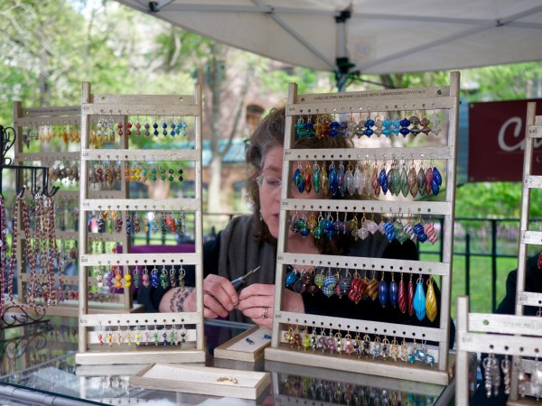 Julie Siegmund of Carnelian Knoll at Crafts On Clumbus