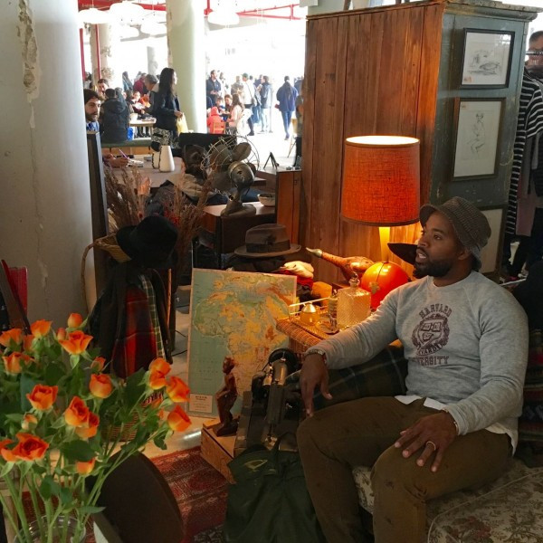 KB, Proprietor of Elton Street Collections at the Brooklyn Flea