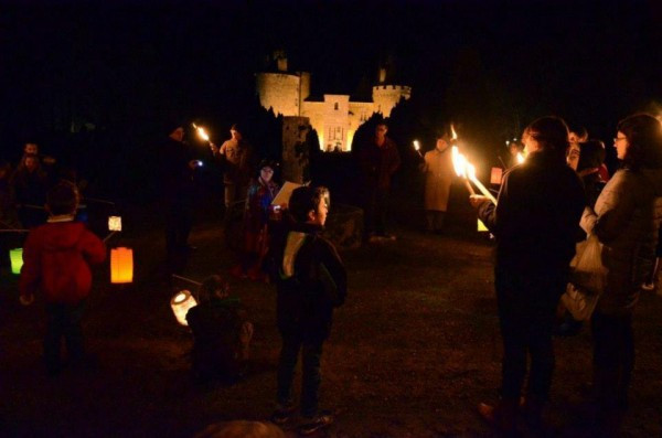 Candle Light Procession at the Château de Bonneval