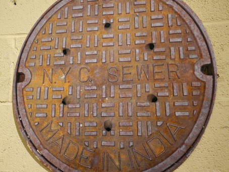 Photo of the Day December 12, 2013: Vernakular Sewer Cover Doormats