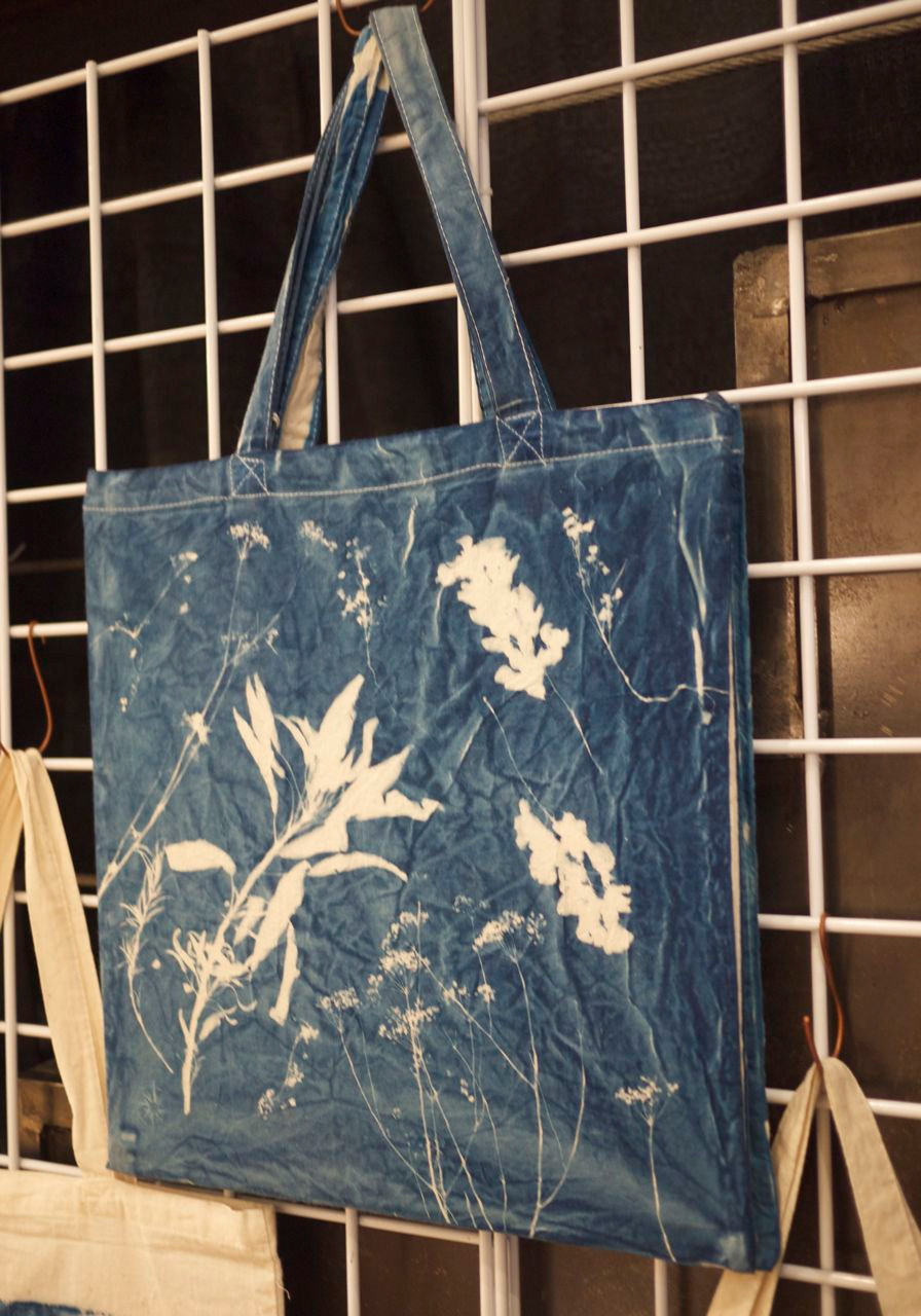 Long Island Wildflower Cyanotype Print by Matt Shapoff of Handmade on Peconic Bay