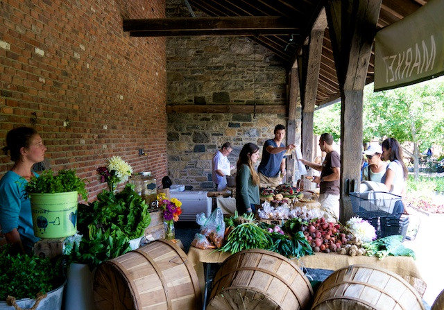 Stone Barns Center's Sunday Farm Market
