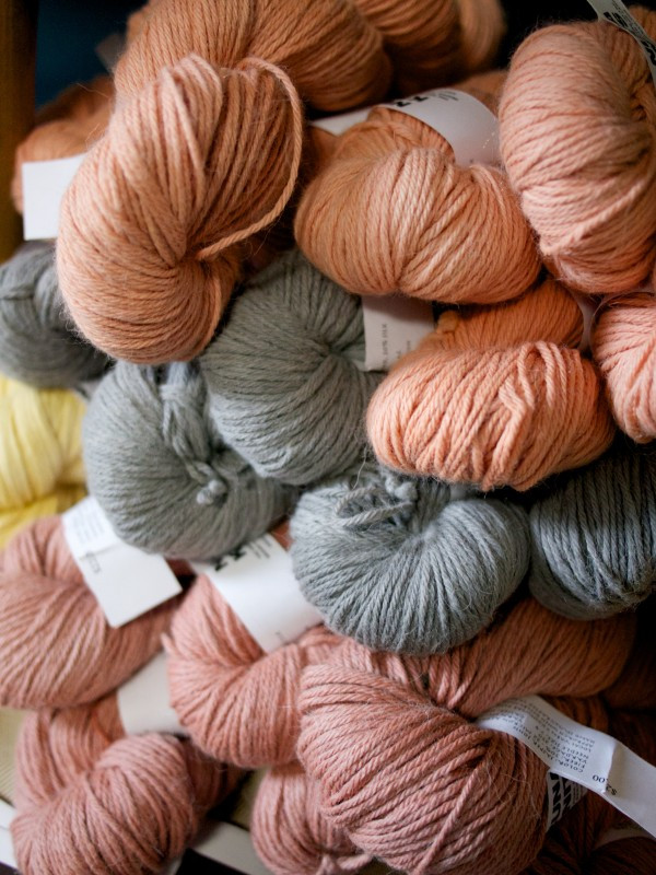 Nuna Knit Yarns Dyed With Natural Clay