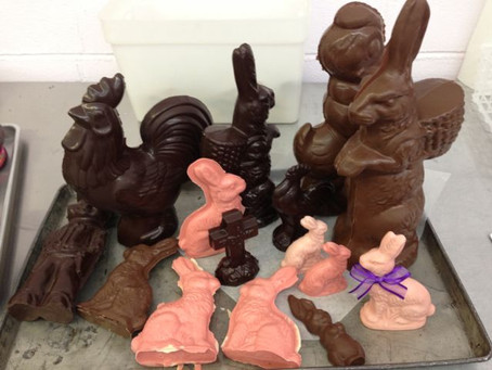 VIDEO: Li-Lac Chocolates: Timeless Bunnies from Vintage Molds