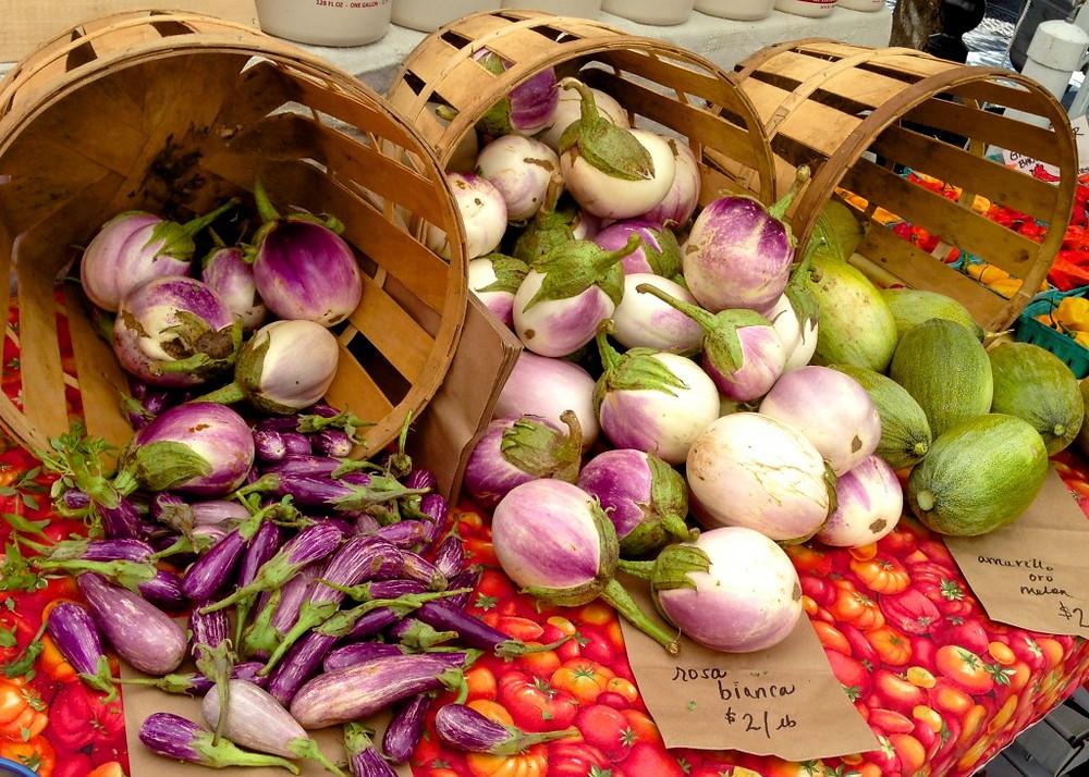 Eggplant Cornucopia from Eckerton Hill Farm
