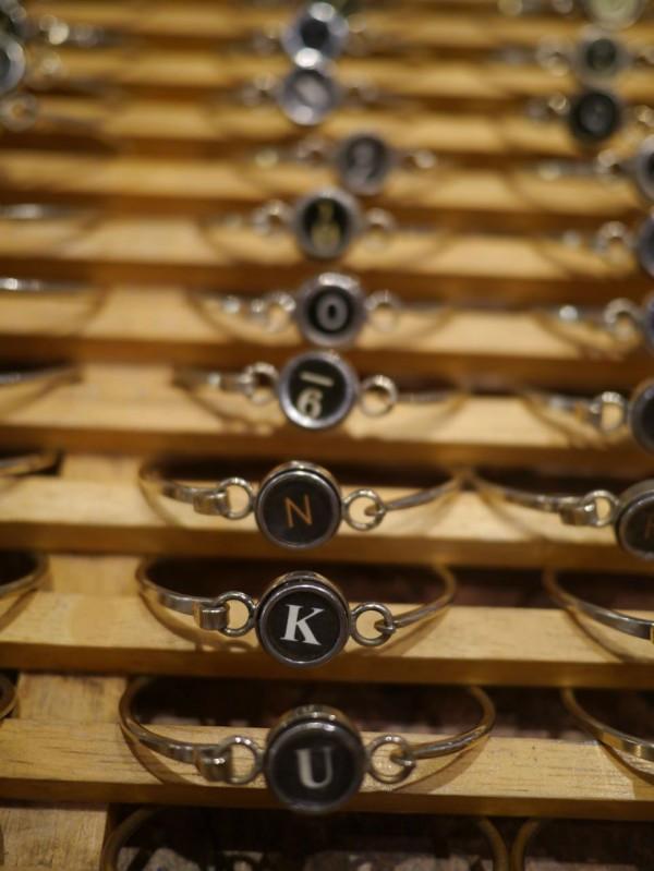 Vintage key bracelets by Churoncalla