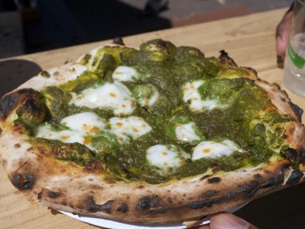Big Mozz Pesto Pizza