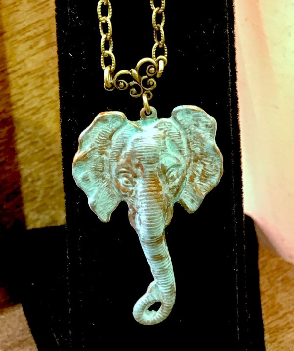 For Elephant Lovers - by UrbanRose in the Bryant Park Holiday Market