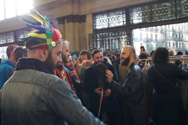 Natives at Barcelona Lost & Found Flea