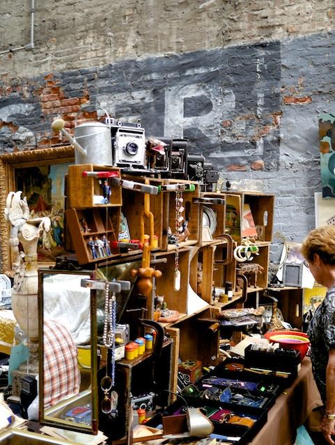 So many vintage treasures at the Chelsea Flea