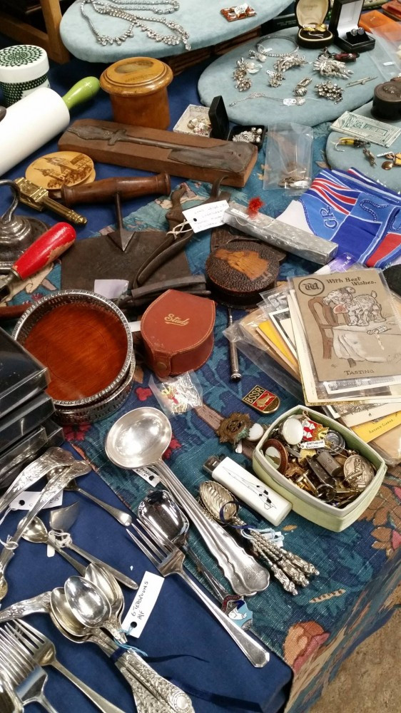 Sweet English Collectibles (Those Spoons!) at Malvern