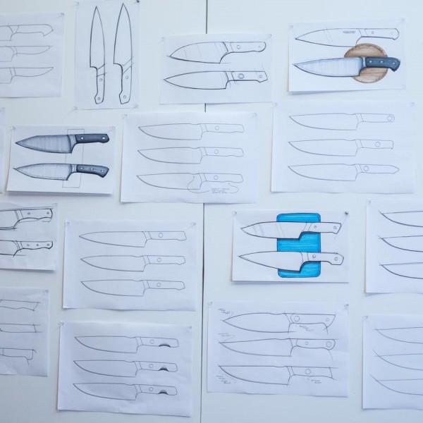 Misen Knife design in progress