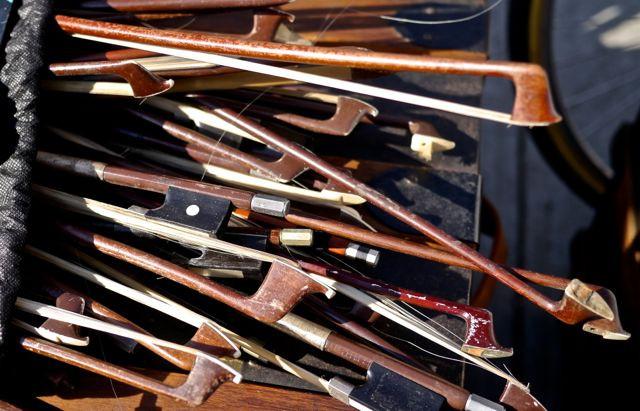 Flea Market Violin Bows