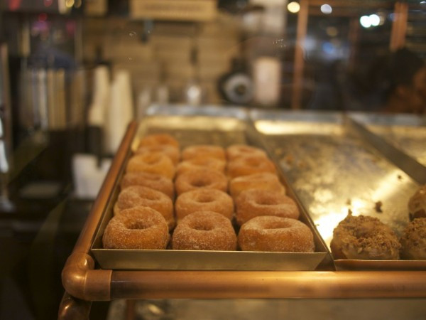 Sample donut from Dough