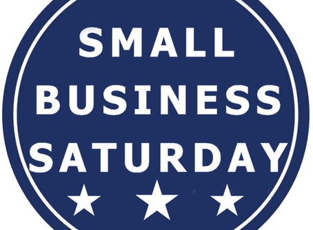 Small Business Saturday Is Here!