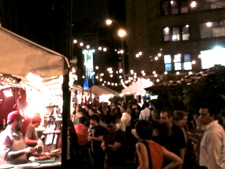 Meet Up With Your Friends This Month At Madison Square Eats