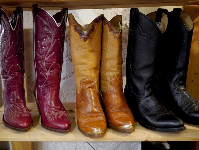 Vintage Cowboy Boots at Olde Sanctuary in The Market NYC