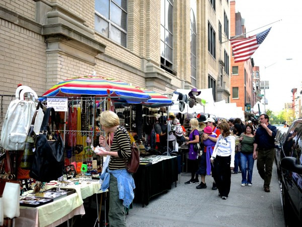 The Bleecker Street Flea and Artisan Market is one of many markets now open for the 2014 Outdoor Season