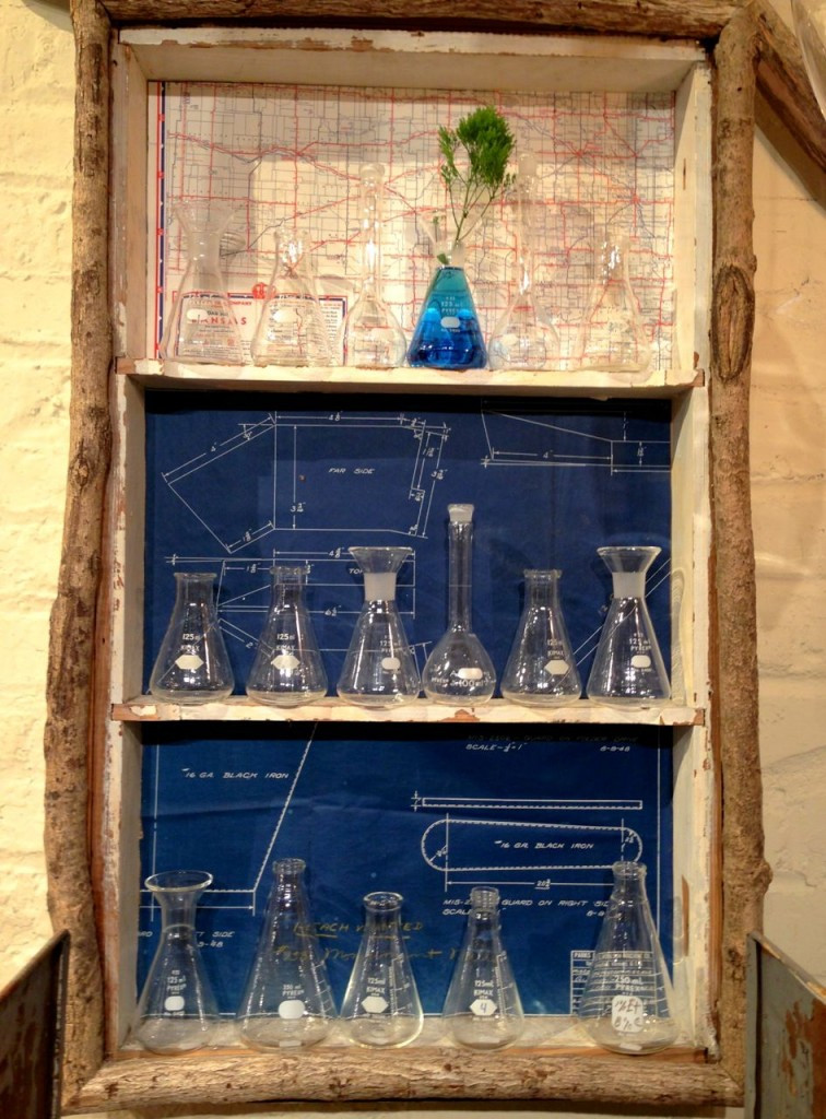 Vintage Lab Glass from Junk Lab at Springle Pop Up