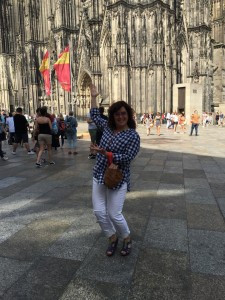 I visited Cologne this summer!