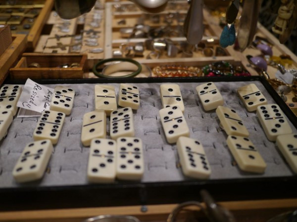 Pick Your Lucky Numbers On These Domino Rings
