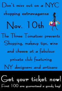 The Three Tomatoes Trunk Show Tonight!
