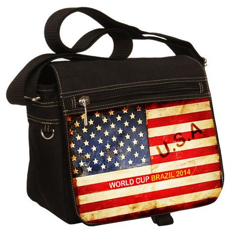 Insiders1 USA Flag World Cup messenger Bag