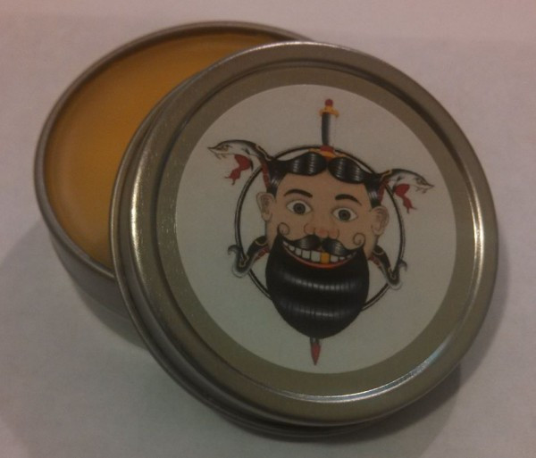 Jersey Fresh Moustache Wax for the The Garden State Beard & Mustache Society