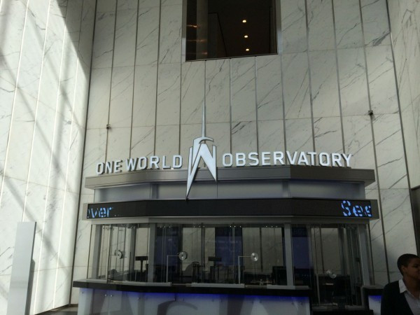 Entrance to One World Observatory