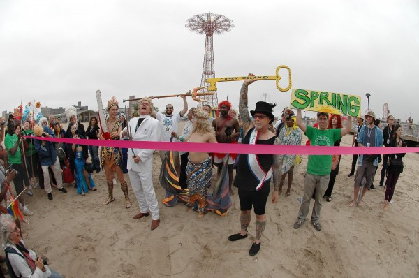 Opening Of The Ocean at Coney Island (Photo by Norman Blake-all rights reserved)