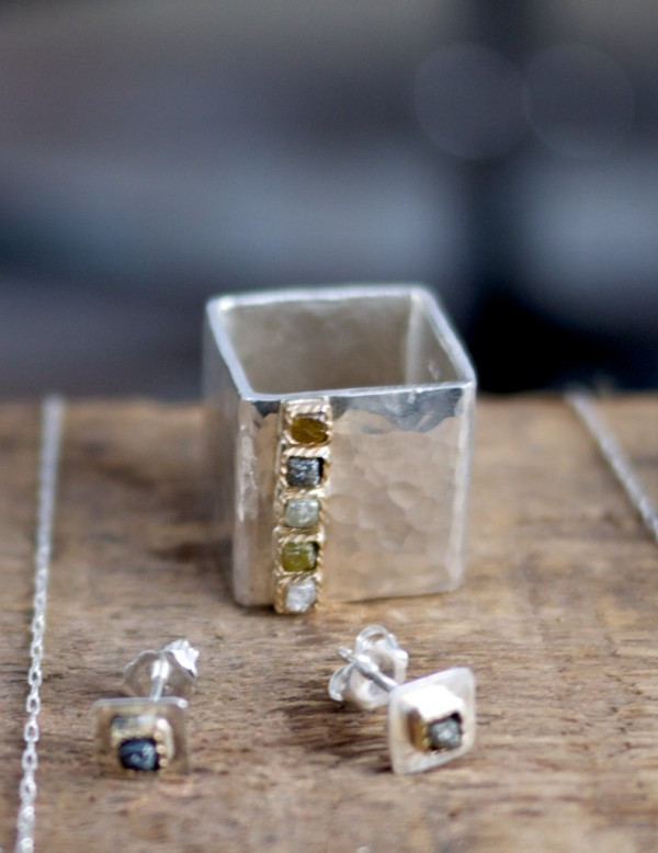 Shaya will be launching his gorgous Rough Cut Diamond Collection online soon!
