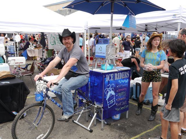 Ice Riders at LIC Flea & Food