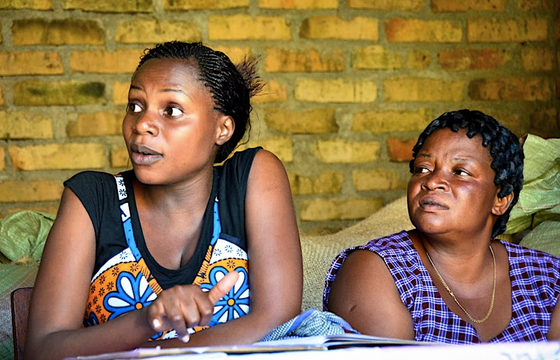 Meeting with women cacao producers in Tanzania (Photo Courtesy of Askinosie Chocolate)