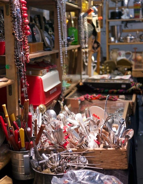 There are treasures at every turn in Abbottkinney's shop at the Antiques Garage