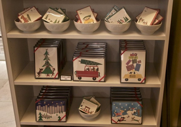 Lovely graphic holiday cards by R. Nicols cards