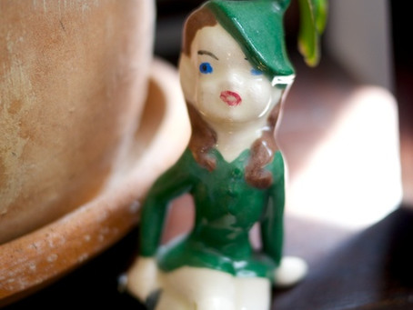 Sweet Green Pixie – My First Find at the Brooklyn Flea