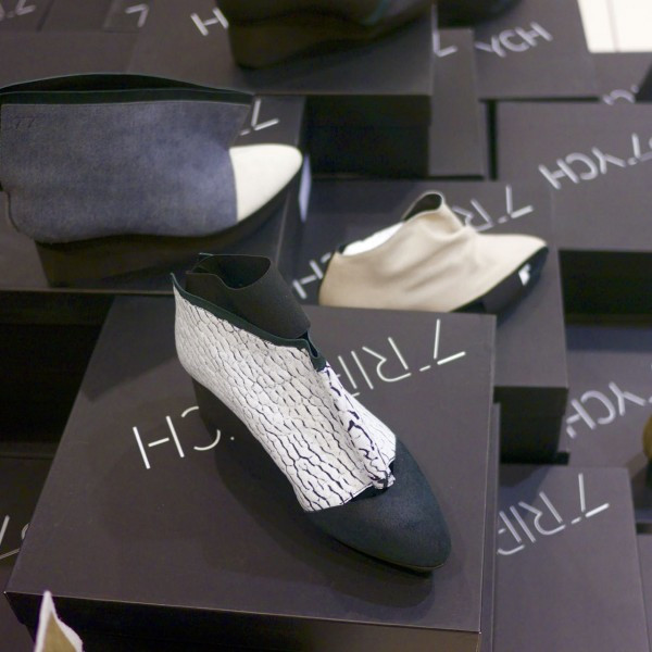 Fabulously Structural Shoe Designs by Triptych at ID Pop Shop