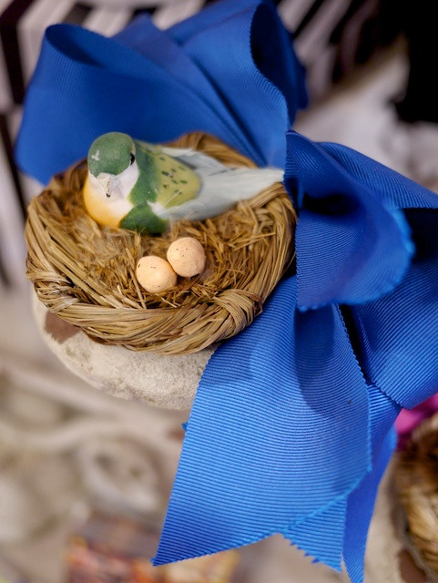 Katherine Carey Millinery Blue Bird Fascinator