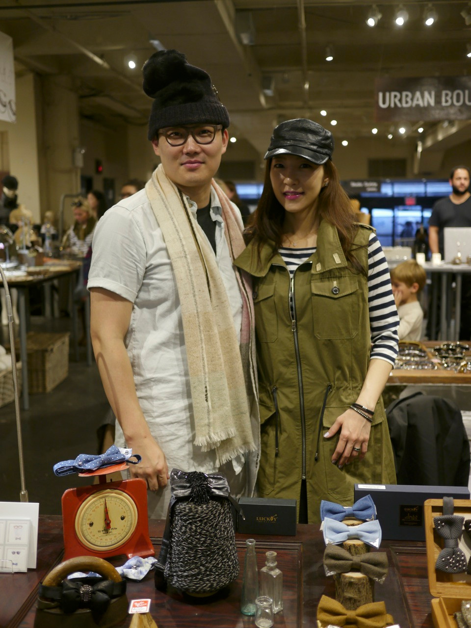Heewon Kim & Carlyn Han, Co-Owners of Lucky Selectism