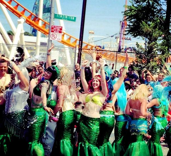 The Coney Island Mermaid Parade 2014