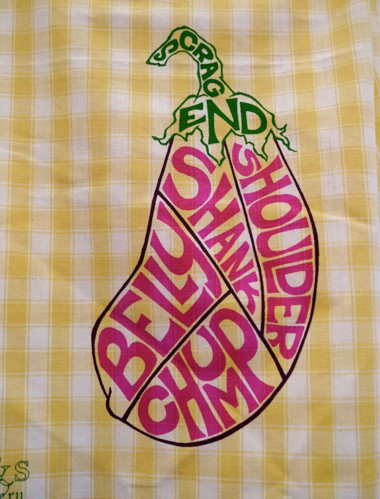 Butcher An Eggplant Tea Towel - R&S Scullery
