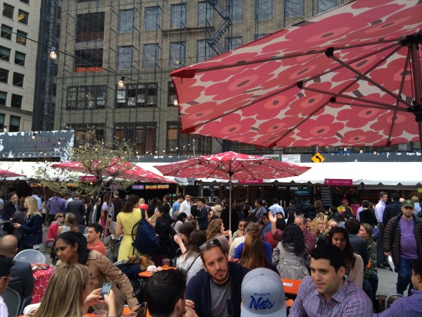 Mad. Sq. Eats Outdoor Food Market is open for the month of May